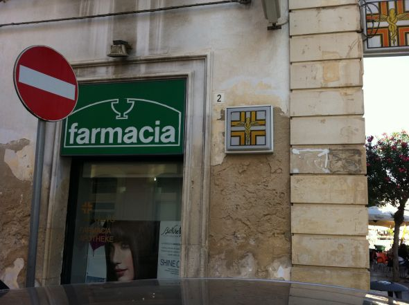 Fuss in the Farmacia