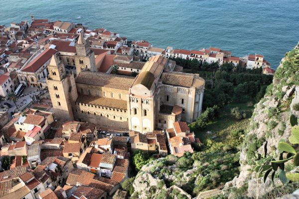 Cefalu from the Rock